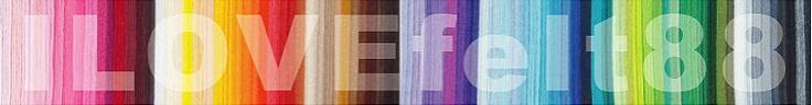 Felt Fabric, Polka Dots Felt ,Hearts Felt, Stars Felt di ILOVEfelt88 on Etsy