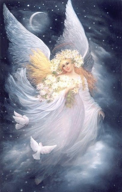 Angels of Light and Moonlight, share with me your rest and rejuvenation as I sleep tonight!
