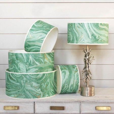 Makrana Emerald Lamp Shades - View All Lighting Accessories - Lighting Accessories - Lighting & Mirrors