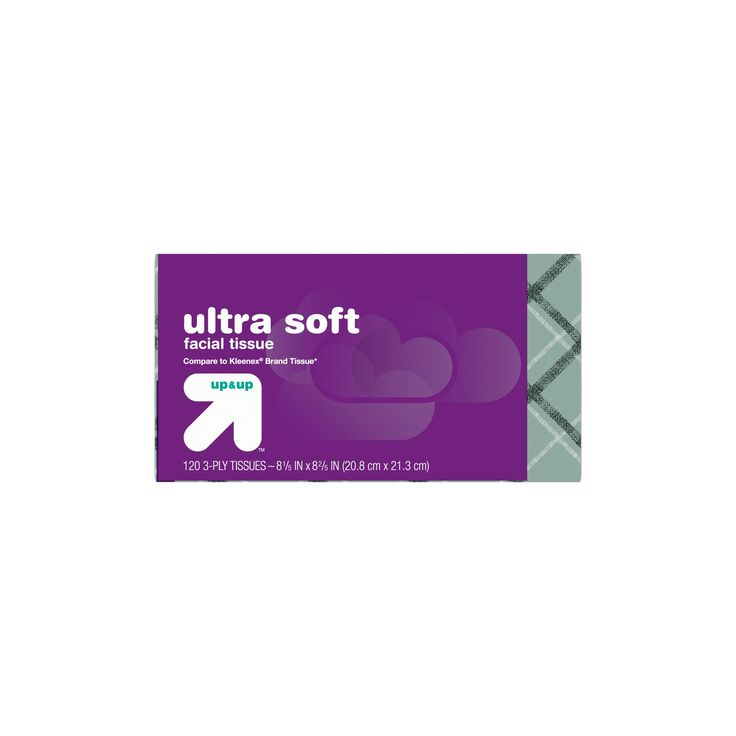 Ultra Soft Facial Tissue - 120ct - up & up