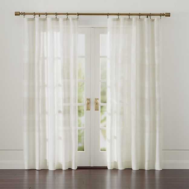 17 Best ideas about Brass Curtain Rods on Pinterest | Drapery rods ...