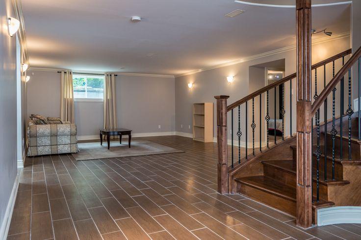 #3368Mustang Recreation Room With Wood Grain Ceramic Tiles