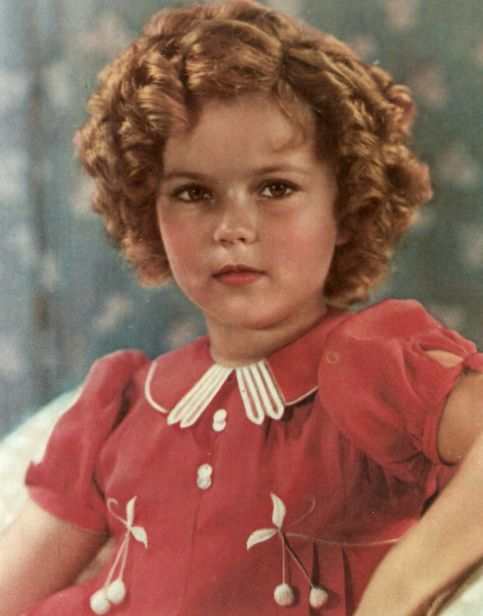 Shirley temple hair color