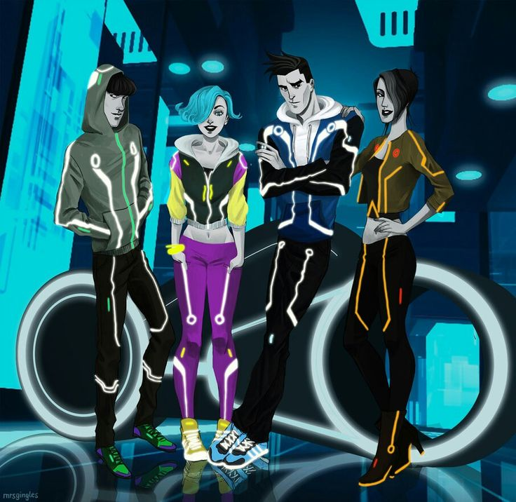 Tron Uprising, omg Beck though *guy in blue*