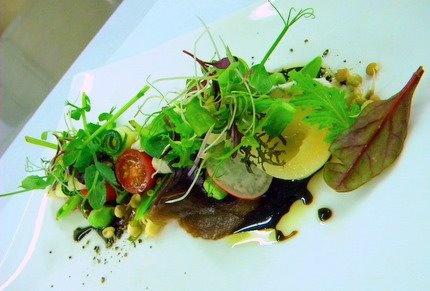 Ostrich Salad