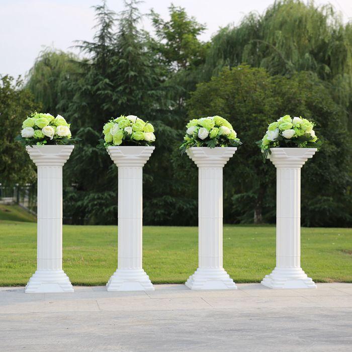 Giá rẻ 35in chiều cao Wedding cột roman đường dẫn hoa cưới cột roman cưới roman trụ Cột Set, Mua Chất lượng   trực tiếp từ Trung Quốc nhà cung cấp: Khi đặt hàng đám cưới mục, nếu bạn chọn Air Express vận chuyển hoặc seller's phương pháp, hãy thử tốt nhất để làm cho tr