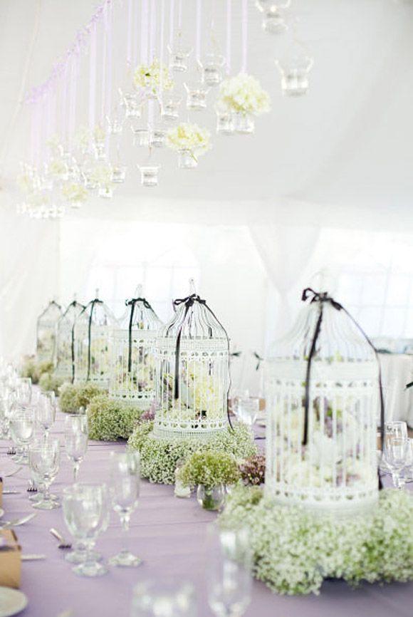 Farolillos y jaulas para decorar tu boda