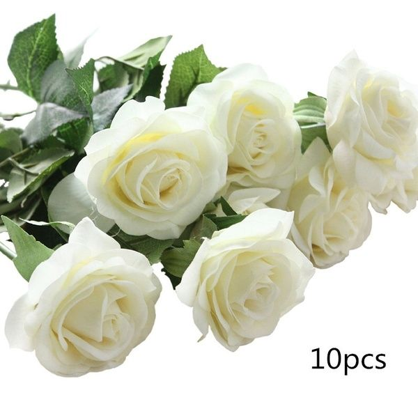 Artificial Latex Real Touch Fake Flower Wedding Party Home Decor Bridal Bouquet