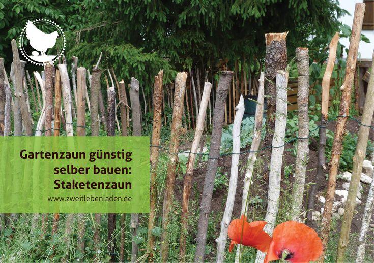 Gartenzaun selber bauen – Staketenzaun