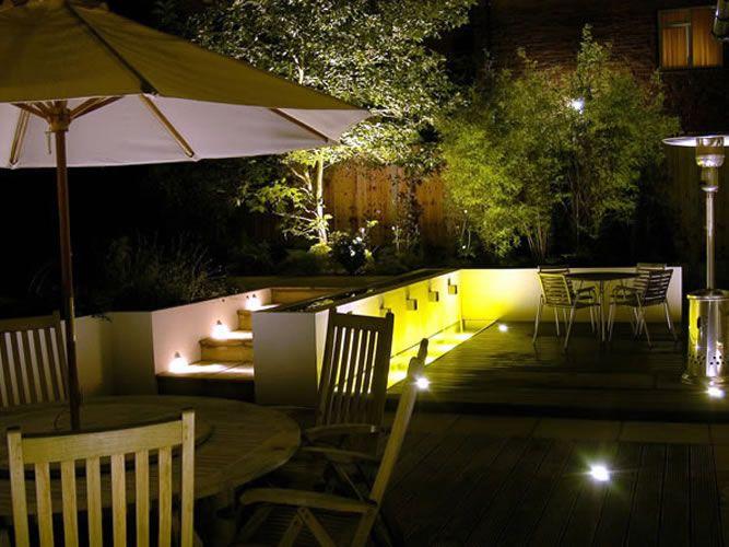 Punica Peyzaj » Hizmetlerimiz: Aydınlatma. Bahçe aydınlatma tasarımı
