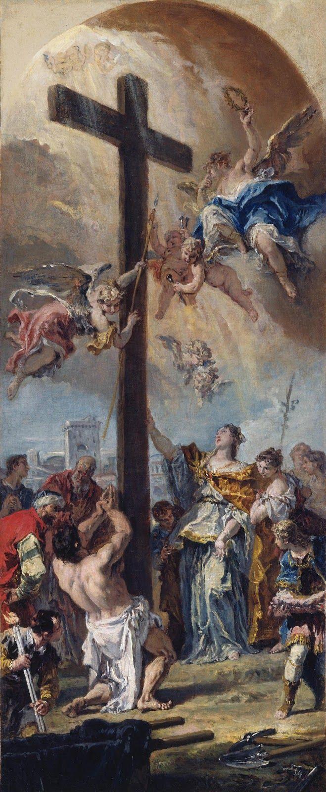 Ύψωση του Τιμίου Σταυρού (1733)  Εθνική Πινακοθήκη Ουάσιγκτον