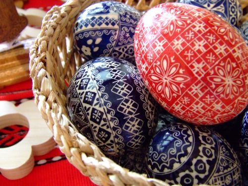 Slovakian Easter eggs