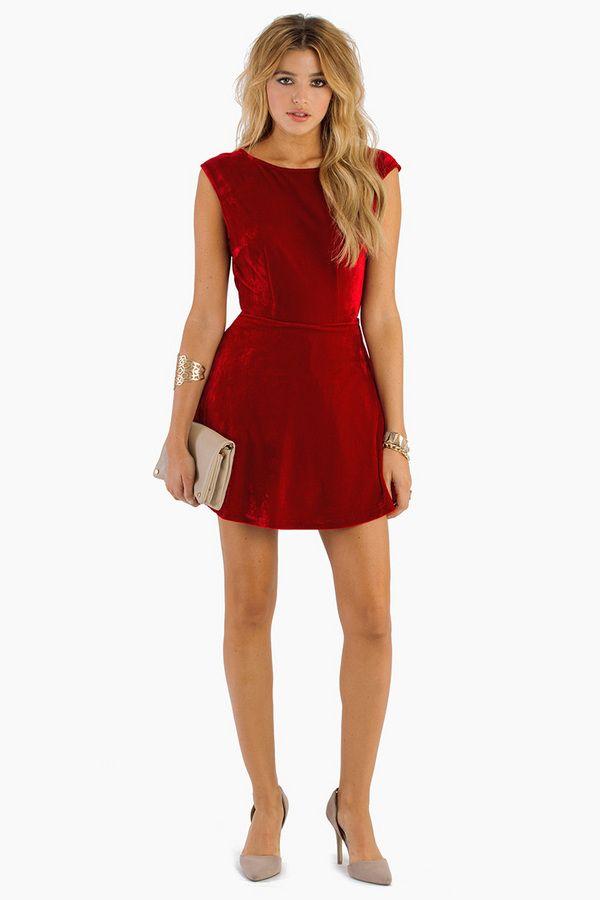 Red dress tobi 15