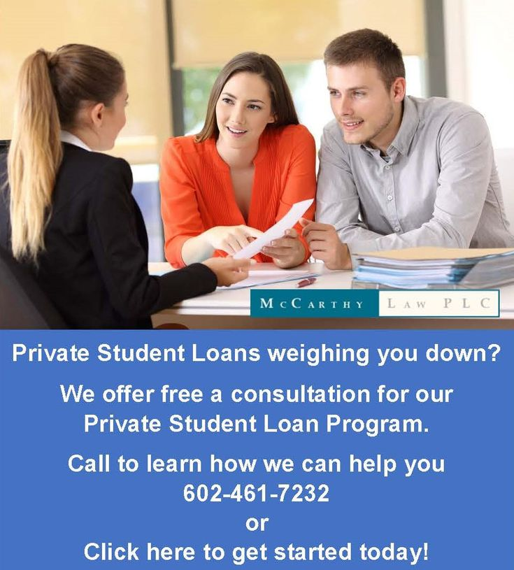 Burdened by Private Student Loan Debt? Call McCarthy Law - We can help!