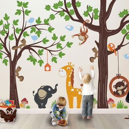 Shop Our Exclusive, Best Creative Original Playroom Wall Decal Graphics  From The Source Of Wall Stickers, Decals And Wallpaper.