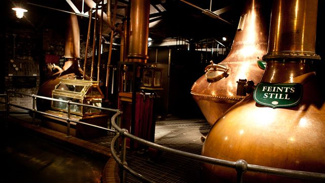 Jameson Copper Pot Stills
