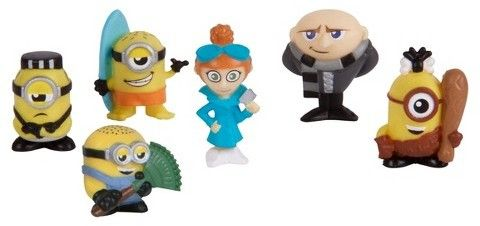 Despicable Me Mineez Deluxe Character 6pk