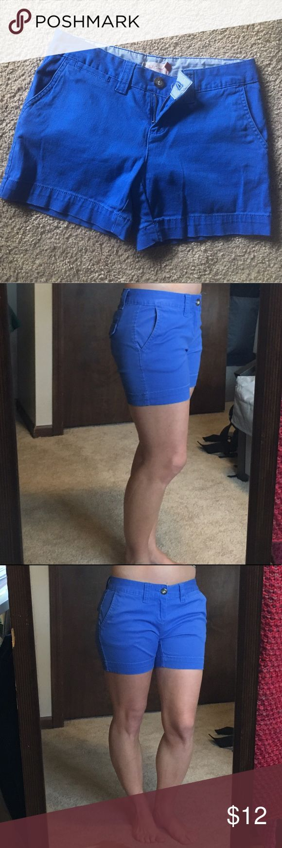 Royal Blue Midi Shorts, size 3 Excellent condition, no major signs of wear.  The pictures show the fit pretty well but feel free to ask questions :) Red Camel Shorts