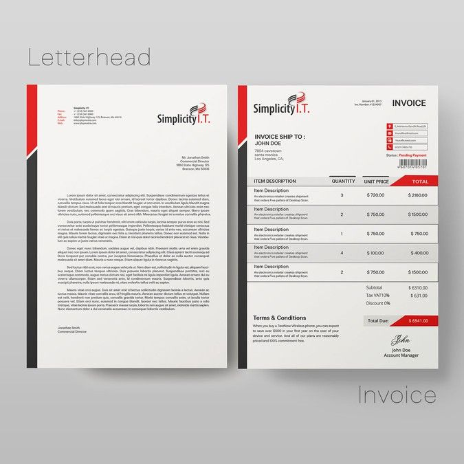 Need new brand identity pack based on existing logo by Vitaliy Popov