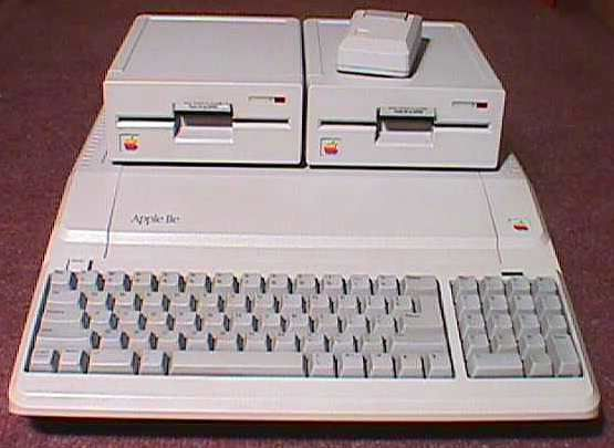 "Apple IIe ""Platinum"""