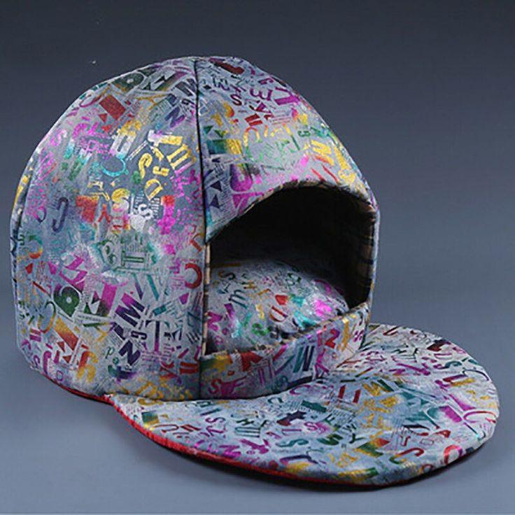Pet Bedding Soft Fashion Hat Dog Sleeping House Warm Pet