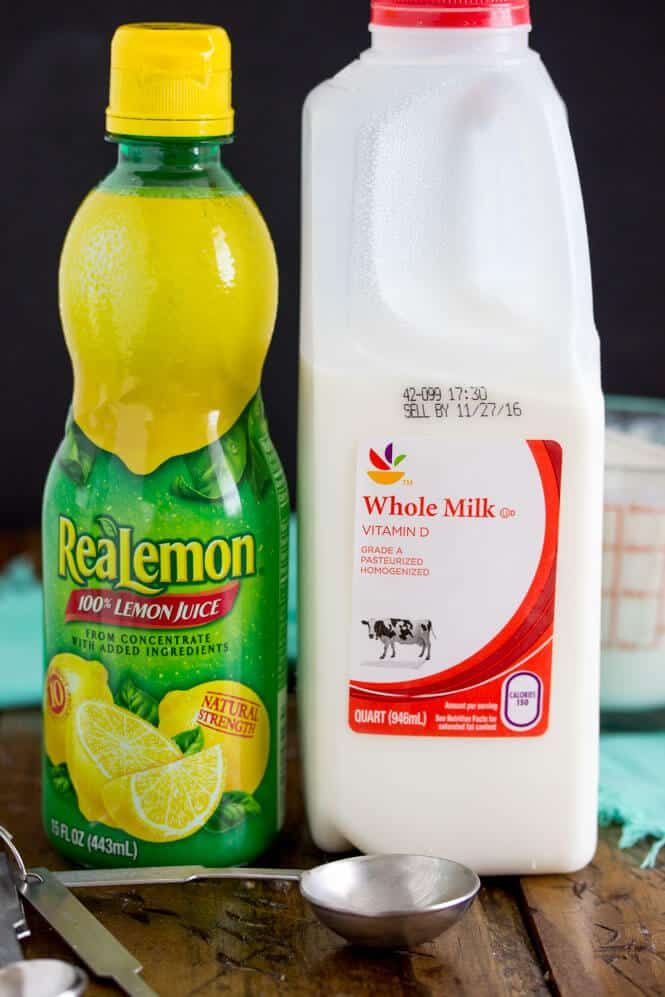 Easy Buttermilk Substitute Using Lemon Juice And Milk Sugar Spun Run Buttermilk Substitute Buttermilk Recipes Baking Substitutes