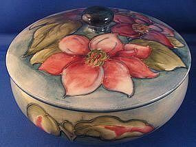Moorcroft Covered Box English Pottery Jar | eBay
