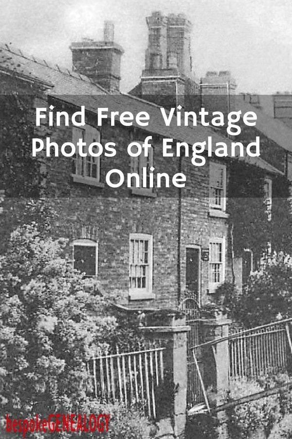 Find Free Old Photos of England Online Bespoke Genealogy