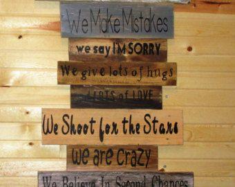 Neuregelung der Familie... In unserem Haus... von likeIsaid auf Etsy