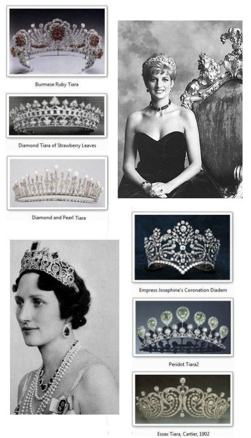 Royalty Crowns, Tiaras, & Diadems