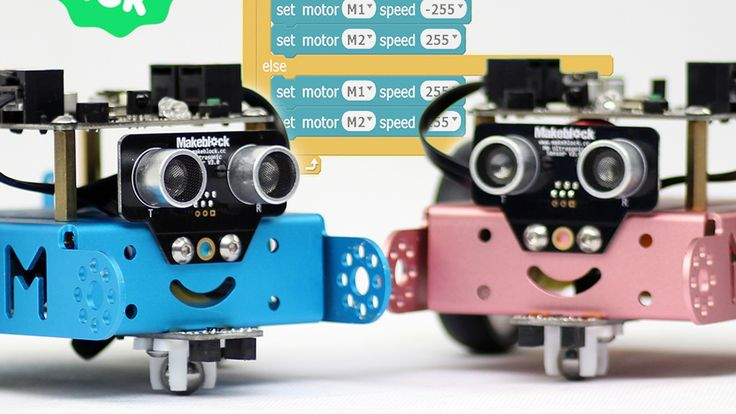 ONE ROBOT PER KID. mBot is the easiest educational robot for kids to learn programming, Arduino and robotics.