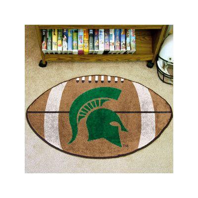 FANMATS NCAA Michigan State University Football Mat