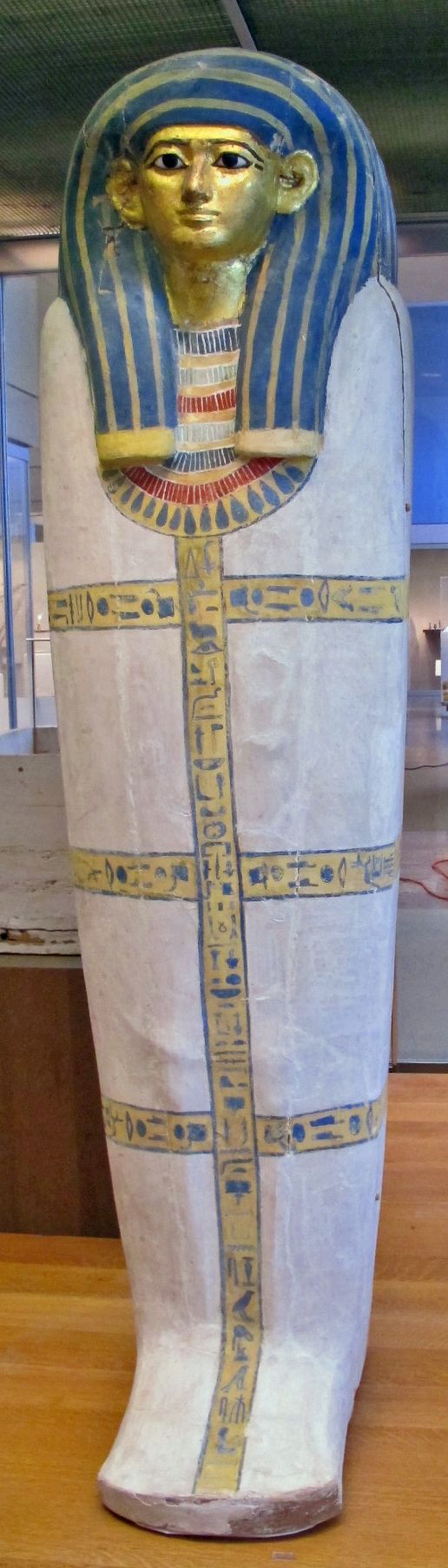 Coffin of Harmose Period: New Kingdom Dynasty: Dynasty 18 Reign: Joint reign of Hatshepsut and Thutmose III Date: ca. 1479–1458 B.C. Geography: From Egypt, Upper Egypt; Thebes, Sheikh Abd el-Qurna, Tomb of Senenmut (TT 71), below, burial of Singer Harmose,