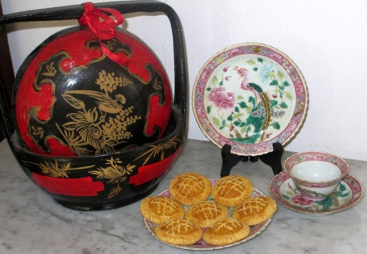 Pineapple tarts made for Chinese New Year..the.Peranakan way !