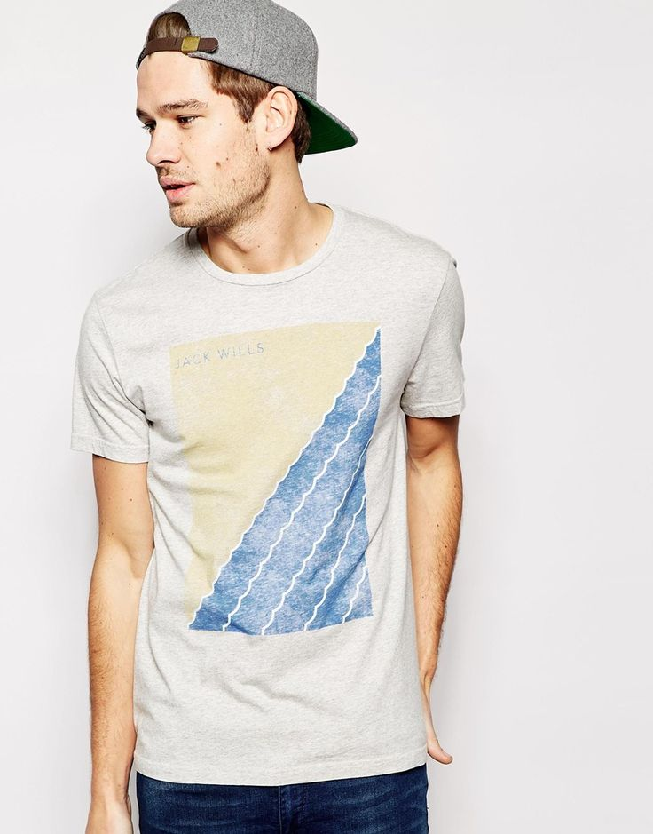 Jack Wills T-Shirt with Sailing Graphic