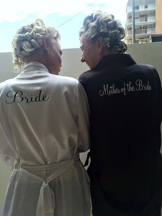 Mother of the bride mother of the groom  gift robe by Bride Tribe www.bridetribes.com.au