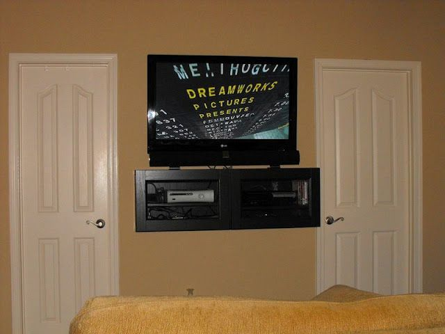10 Best Images About Wall Mounted Flat Screen Tv Shelves