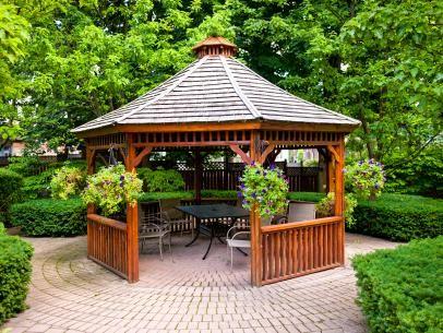 Patio Gazebos | Outdoor Design - Landscaping Ideas, Porches, Decks, & Patios | HGTV