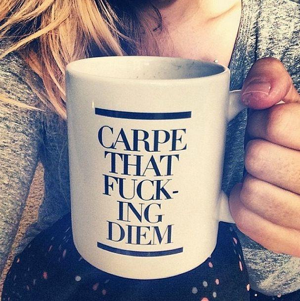 Coffee Mug Carpe That Fucking Diem