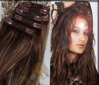 INDISCHE ECHTHAAR CLIP IN EXTENSIONS  Die Haare liegen in Wunschrichtung, somit gibt es kein unschönes Verfilzen oder Verkletten. Die Haare besitzen eine schöne, glänzende intakte Schuppenschicht. Unsere indischen Naturhaare werden sanft gebleicht und gefärbt. Mit Clip-Ins aus echtem Haar haben Sie schnell und unkompliziert einen neuen Look mit längerem und dichterem Haar, ganz wie Sie mögen. http://www.your-hair-world.de/yhw-clip-in-extensions-exclusive/indische-clip-ins/
