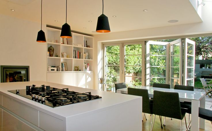 kitchen bi folding doors tiles - Buscar con Google