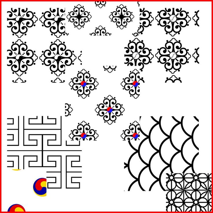 korean design pattern | Korean Patterns 1 by *KinnoHitsuji on deviantART