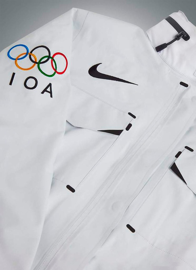 2 | Nike's Olympic Gear For Athletes Without Countries | Co.Design: business + innovation + design: London 2012, Ceremony Outfits, Nike Gears, Nike Outfits, Country Gears, Nike Olympics, Co Design, Pink Nike, Innovation Design