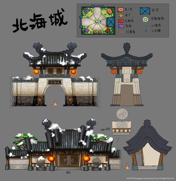 TS 3 Online by ChangYuan Jou, via Behance