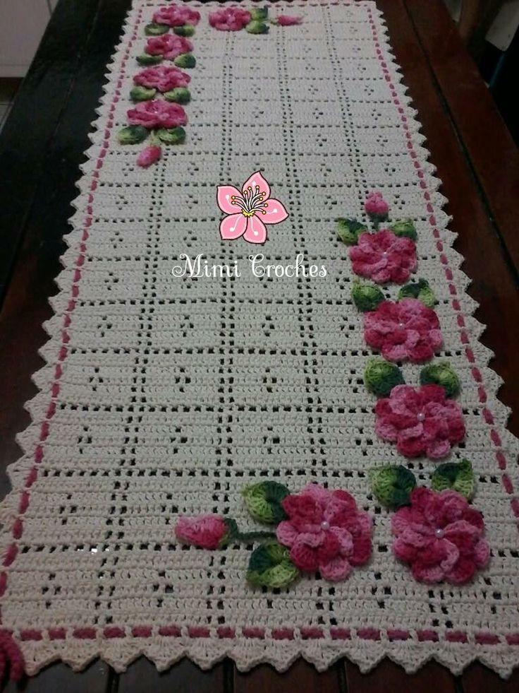 1408 best tapetes en crochet images on pinterest doilies for Tapetes de crochet
