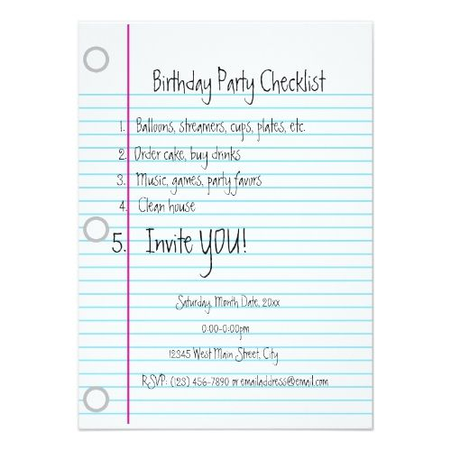 Best 25+ Birthday Party Checklist Ideas On Pinterest Party   Birthday Party  Guest List  Party Guest List