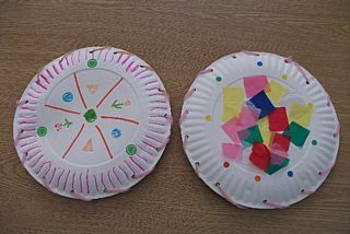 Preschool Crafts for Kids*: Paper Plate Tambourine/Shaker Music Craft