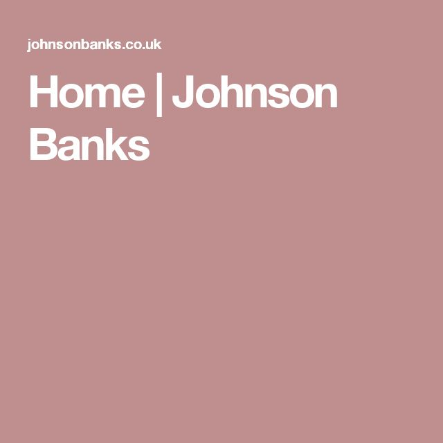 Home | Johnson Banks