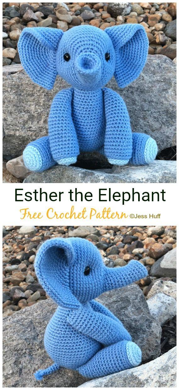 Amigurumi Little Elephant Free Pattern | 1240x570