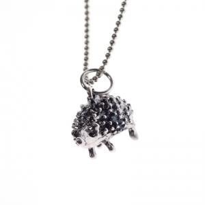 Cute hedgehog necklace